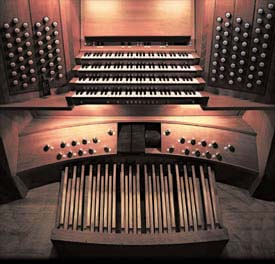 Organ Console - The Bridgewater Hall