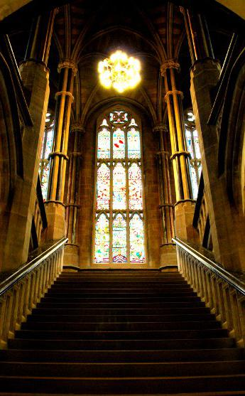 ROCHDALE TOWN HALL (GRAND STAIRCASE)